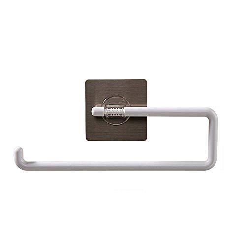 BAIF Handtuchhalter An der Wand montierte Handtuchstange Handtuchhalter Handtuchregal Handtuchständer Handtuchhalter Handtuchstapler Aufbewahrungshalter Durchschlagsfrei Keine Spur Rollenpapier G