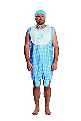 NEU Herren-Kostüm Baby Boy, blau, Gr. 56-58