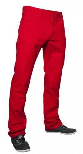 Urban Classics Herren Hose Rot