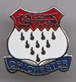 Chichester - West Sussex Stadt Grafschaft Pin Wappen