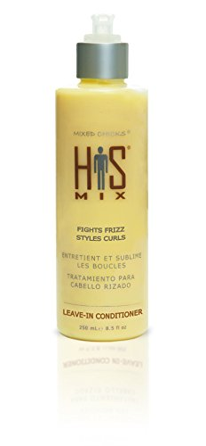 Mixed Chicks Revitalisant sans rinçage His Mix Leave-In Conditioner - Élimination des frisottis et permet de coiffer les boucles - 250 ml (8.5 oz)