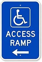 Fr75en Zusatz-Parkdruck blau-weiß Pfeil rechts Bild Symbol Hinweisschild Parkplatz Geschäft Büro Schild 20,3 x 30,5 cm