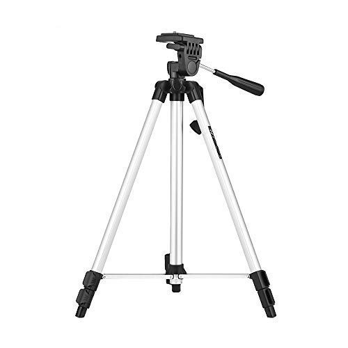 Marklif 330A Foldable Camera Tripod with Mobile Holder  Silver