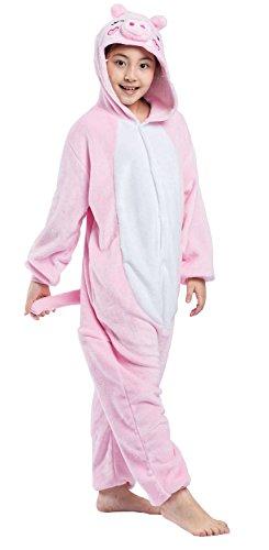inder Schwein Pyjamas Nachtwäsche Tier Onesies Cosplay Kostüm (Halloween-kostüme Für Jungen Im Alter Von 13)
