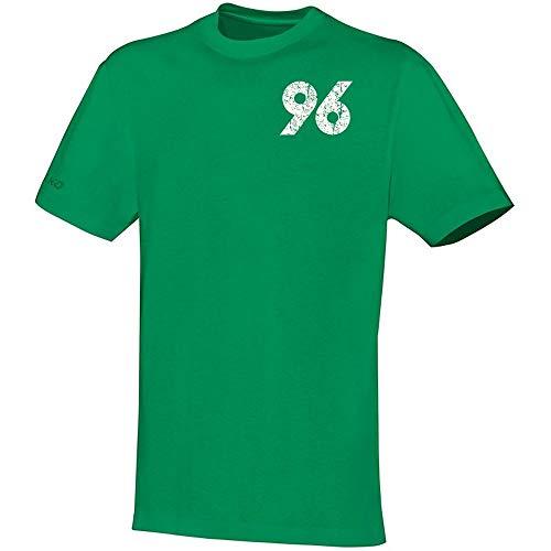 JAKO Fußball Hannover 96 T-Shirt Replika Herren Kurzarmshirt grün Gr XL