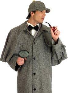Sherlock Holmes - Adult Kostüm - Medium - (Sherlock Kostüm Holmes Zubehör)