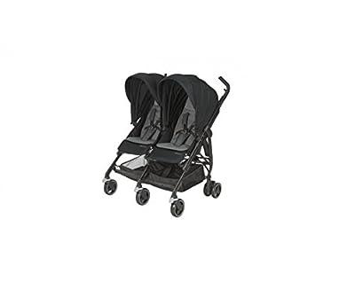 bébé confort Dana FOR 2Geschwisterwagen für Kinder von 0bis 3.5Jahre, Nomad Black
