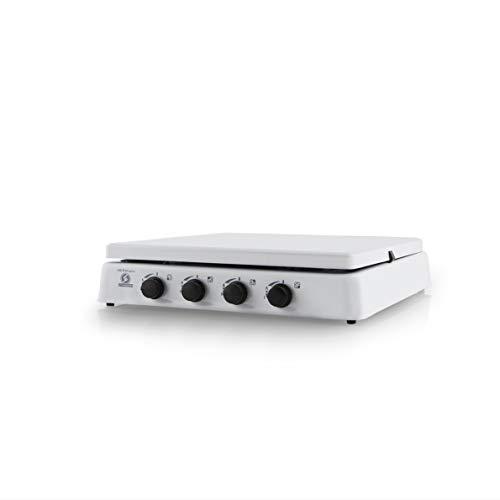 Orbegozo FO 4550 4550-Hornillo Gas, 4 quemadores, 1400 W, Esmaltado, Color blanco