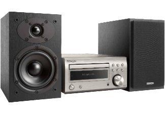 Denon D-M41 Home audio mini system 60W Negro, Plata - Microcadena (Home audio mini system, Negro, Plata, 60 W, De 2 vías, 12 cm, 2,5 cm)