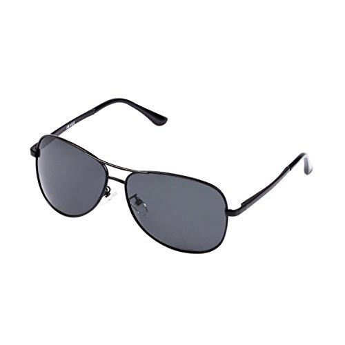IMAGE SG9 Herren Polarisierte UV400 Sonnenbrille für Outdoor Sport reiten Fahren Golf Angeln Laufen Skifahren Klettern Wandern Autofahren, Metallrahmen