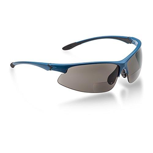 Fahrradbrille mit Leseteil, bifokal Sonnenbrille (+2,00 dpt)