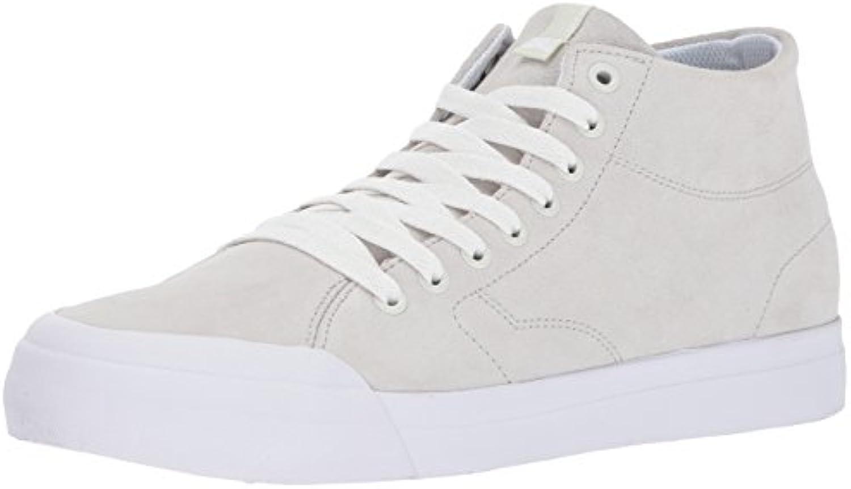 DC Mens Evan Smith Hi Zero White Shoes Size 7