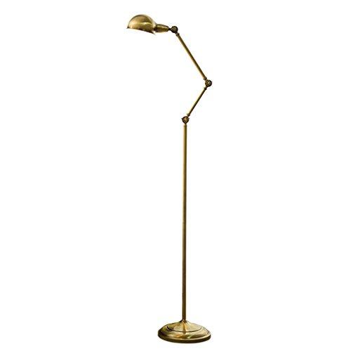 ALUK- Étude nordique salle de lecture salon salle à manger lampe de sol éclairage créatif vertical (Couleur : Lumière blanche)