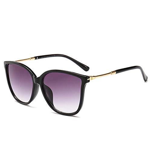 Sonnenbrillen, Herren- Und Damensonnenbrillen, Japan Und SüDkorea, Explosionen, GroßE Rahmen, Retro-Mode, EuropäIsche Und Amerikanische Trends,blackframegraypiece
