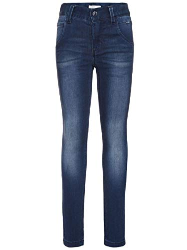 NAME IT Kids Jungen Jeans, Denim Pant Classic (XS-Slim Fit) in Dark Blue Denim, Größe:152