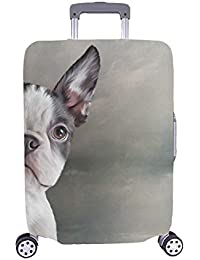 Fashion Sketch Hand Drawn Graphic Spandex Trolley Case Travel Luggage Protector Suitcase Cover 28.5 X 20.5 Inch