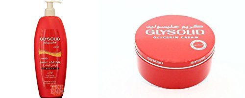 Glysolid Body Lotion Classic With Musk 500 ml+ Glysoild Cream, 250g Como Pack