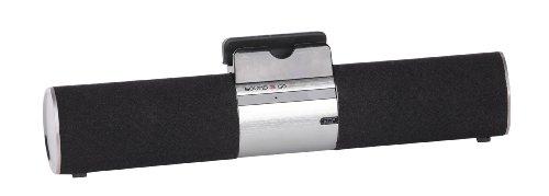SOUND2GO SOUNDBOARD – Bluetooth 3.0 Stereo Lautsprecher mit Freisprecheinrichtung und Halterung für Smartphone und Tablet