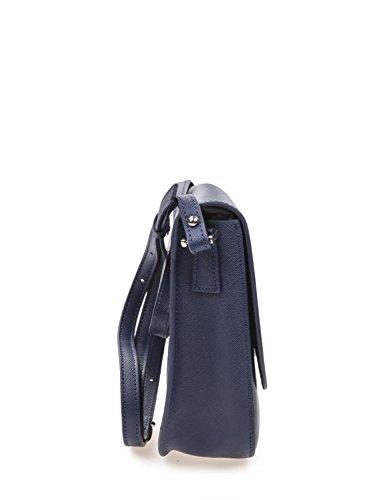 Gsell Bleu Refente Travers 60 Sac Porté Cuir 421 Vachette Lancaster De rxFr6qA