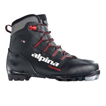 alpina T5Langlauf Nordic Ski Stiefel 54 schwarz