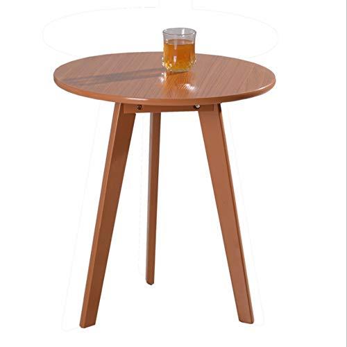 Sedia pieghevole XINGUANG Tavolo Rotondo Tavolo per Il Tempo Libero Creativo Balcone Legno Tavolino Piccolo Appartamento Rotondo Table48*48 * 60