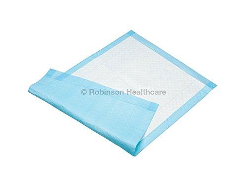 Readi - Traversa usa e getta, pezzuola protettiva per letto, 60 x 90cm, assorbimento: 1400 ml, 100 pz