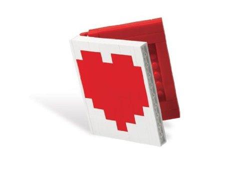 Lego Liebe, Herz, Buch Mini Bilderrahmen Setzen 40015 (Lego Bilderrahmen)