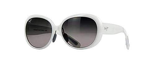 Maui Jim Maui Nahiku GS43605 Sunglasses New - Size: 59--17--145 - Color: White Pearl