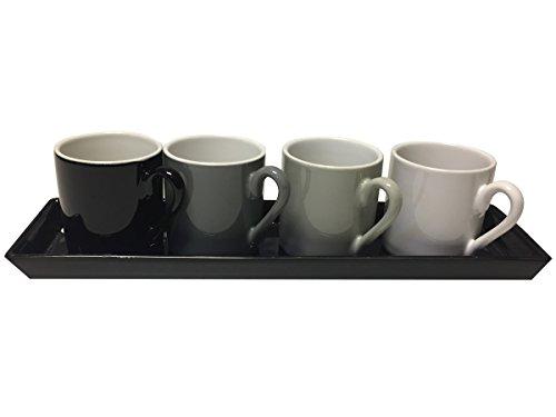 4 HAFERL GRADIENT SCHWARZ WEISS PLATFORM 5 x 5 cm Kitchen Washer