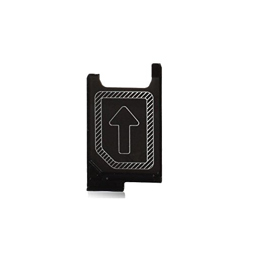 NETBOON® Sony Xperia Z3 Sim Card Holder Plastic Tray Original Genuine Replacement - Black  available at amazon for Rs.249