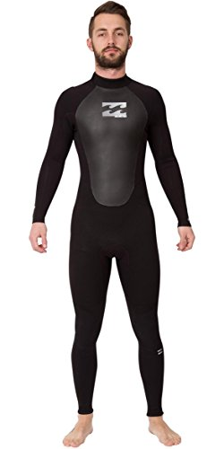 Billabong Intruder 403 GBS Traje de Neopreno, Hombre, Black, M
