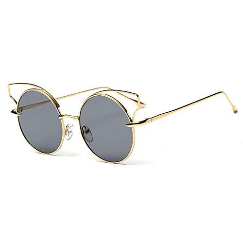 Fenck 2016 New Brand Designer Women Big Mirror Sunglasses Women Hippie Pilot Hollow Out Sun Glasses