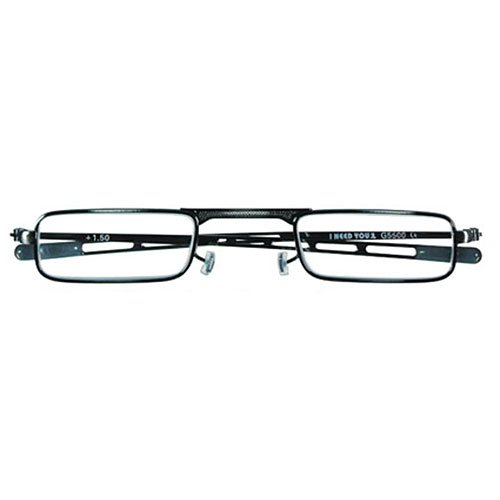 I NEED YOU Lesebrille 9 mm / +1.50 Dioptrien/Antik silber, 1er Pack