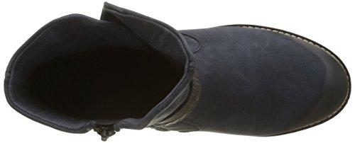 Remonte R33, Stivali da Motociclista Donna Blu (Pazifik/Ozean/Schwarz-Silber/Graphit/Granit/14)