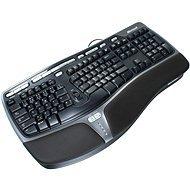 Microsoft Natural Ergonomic Keyboard 4000, Win32, USB, CD, Black, CZ USB + PS/2 Schwarz - Tastaturen (Win32, USB, CD, Black, CZ, Verkabelt, USB + PS/2, Schwarz)