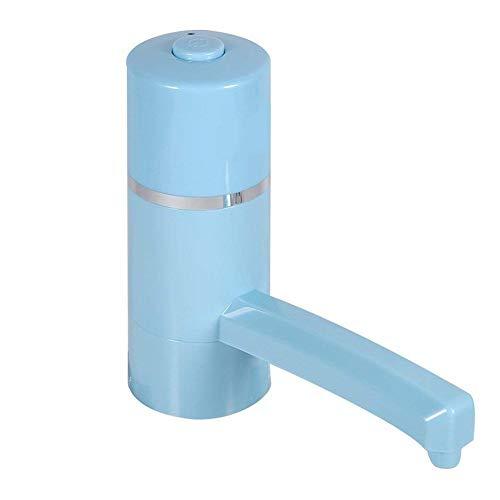 LYA Dispensador de Agua eléctrico Giratorio de 360   ° con Carga USB, Bomba de Botella de Agua de galón, hervidor de Agua de 5-8 galones para el hogar, la Oficina y el Camping al Aire Libre,Azul