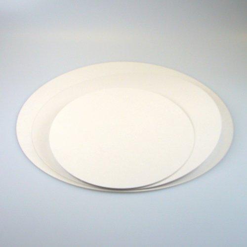 Tortenunterlage Fettabweisende Kartonunterlage 22 cm Cake board 5 stück