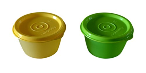tupperware Junior Bowled Over Plastic Bowl Set, 150ml, Set of 2, Multicolour  available at amazon for Rs.150