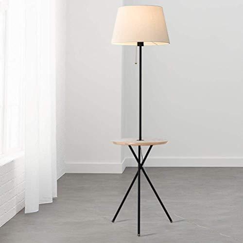 Familien-licht-stehlampe (LY88 Licht E27 Kreative Hauswirtschaft Holz Staffelei Umfrage Lampe Schlafzimmer Studie Familie Wohnzimmer Büro Regal Beleuchtung Stehlampe)