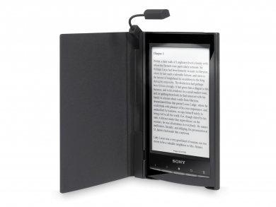 Sony PRSA-CL10Cover con lámpara LED para eBook Reader PRS-T1-Color Negro