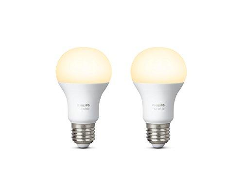 Philips Hue Pack de 2 ampoules White E27