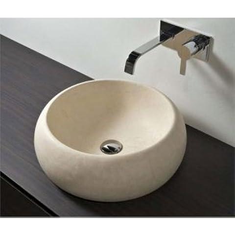 Antonio lavabos base lobos BULL lavabo de pie de madera con piedra de BULL
