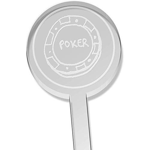 Azeeda 10 x 'Poker Chip' Kurz Trinken Sie Rührer (DS00015948) -