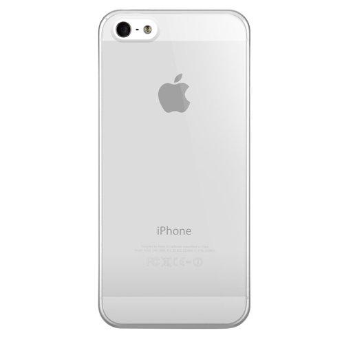 Nude Hardcover Schutzhülle für Apple iPhone 5 Ultraschwarz durchsichtig