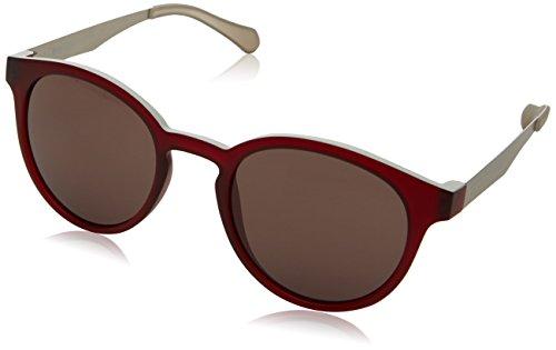 BOSS Hugo Unisex-Erwachsene 0869/S L3 05J Sonnenbrille, Rot Burgandy Mtpld/Dark Mauve, 51