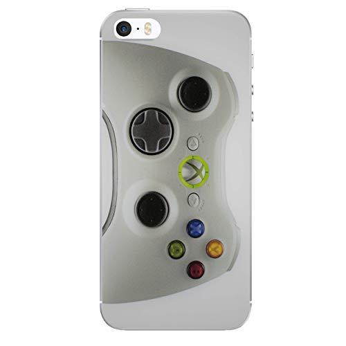 iPhone 5/5s Konsolensteuerung Silikonhülle/Gel Hülle für Apple iPhone 5s 5 SE/Schirm-Schutz und Tuch/iCHOOSE / Xbox 360 (Klein) (Xbox 360 Spiele Für Kleine Jungen)
