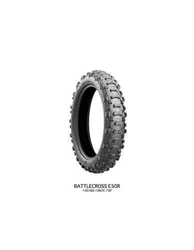Gomme bridgestone battlecross e50 120 90-18 65p tt per moto