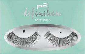 p2 cosmetics Künstliche Wimpern definition false lashes, 1 Paar (1St)