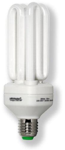 Energiesparlampe, E27/30W-840, MEGAMAN, Compact