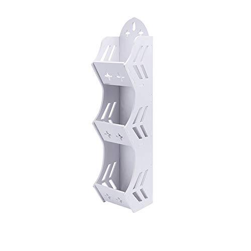 LifeX 3 Tier Free Stanzen Kombination Halter Hängen Lagerung Ständer Nahtlose Aufkleber Weiß Bad Dusche Regal Toilette Kosmetik Lagerregal Wand Montiert Halterung -